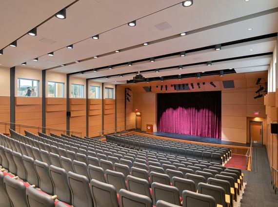 higher education auditorium