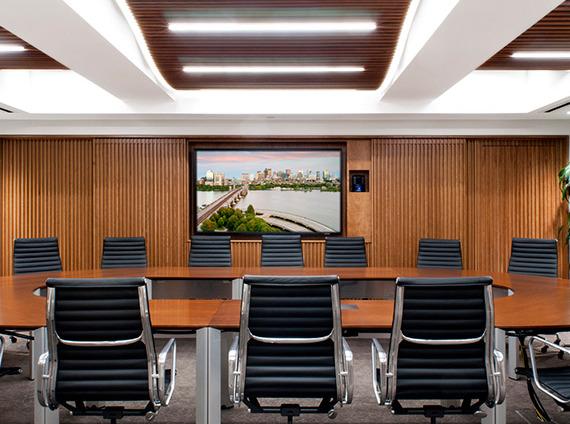 higher education boardroom