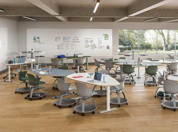 higher education collaborative classroom