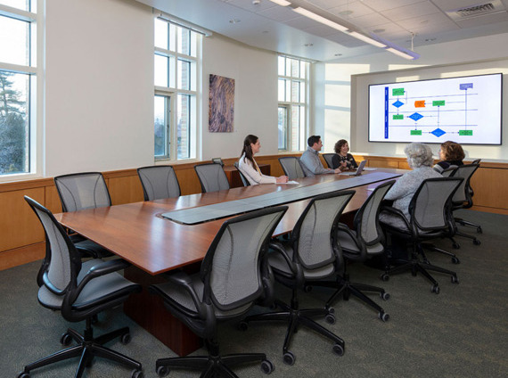 higher education conference room