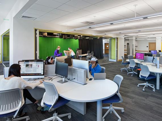 higher education media lab